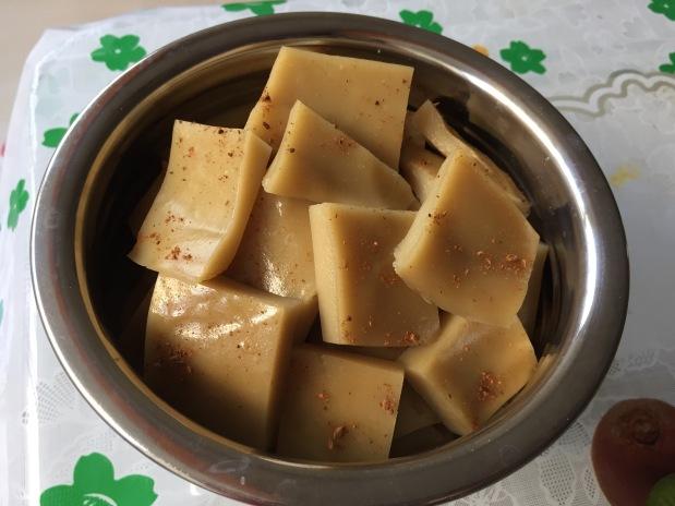 Dudheli – Sugercane Juice Delicacy